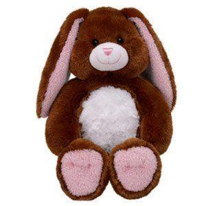 Build A Bear Chocolate Brown Pawfectly Hug Bunny